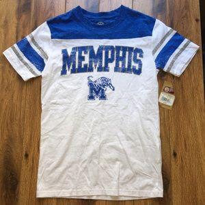🔥 Memphis college shirt - NWT